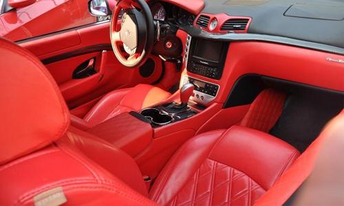 安徽玛莎拉蒂GT4坐红色跑车租赁